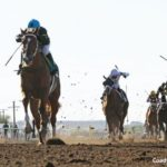 Calumet's Hence Surprises At 10-1 In Sunland Derby