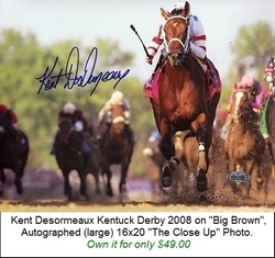 Autographed Kentucky Derby Photo