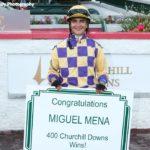 Julien Leparoux, Miguel Mena Record Milestone Victories At Churchill Downs