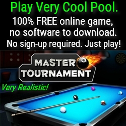 Play very cool pool online