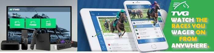 TVG Watch and wager on horse racing from anywhere.
