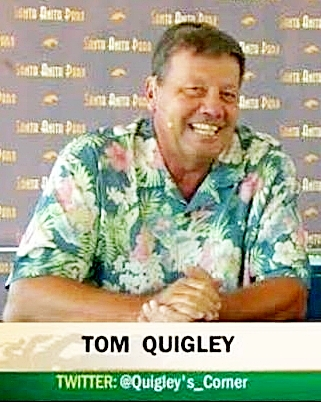 Tom Quigley provides tips and advice to horse racing bettors.