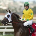 Vasilika Nails Juliet Foxtrot At Wire In Del Mar's John C. Mabee