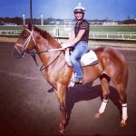 'An Angel On His Shoulder': This Thoroughbred's Fate Was Written In Ink