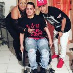 Jockey Hector Rafael Diaz Jr. Driven By Hope That His Brother Will Walk Again