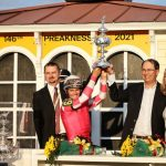 Rombauer Upsets 146th Preakness With Powerful Stretch Run