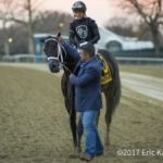 Sharp Azteca Finally Gets His Grade 1 Win In Cigar Mile