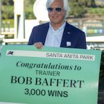 Thousand Words Fights Hard In Robert B. Lewis To Give Baffert His 3,000th Victory